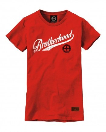 "EB T-Shirt ""Brotherhood"" Women – Red"