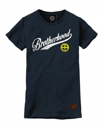 "EB T-Shirt ""Brotherhood"" Women – Navy"