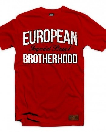 "EB T-Shirt ""Imperial Brand"" – Red"