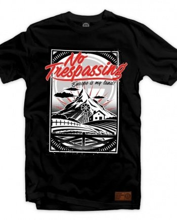 "EB T-Shirt ""No Trespassing"" – Black"