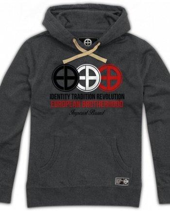 EB Hoodie Identity – Tradition – Revolution – Grey