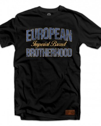 "EB T-Shirt ""Imperial Brand"" – Black 02"