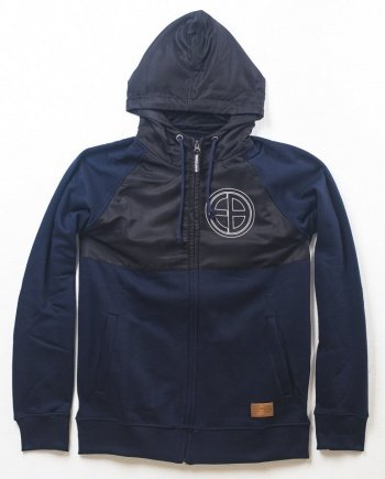 "EB Hooded Zip Full Mask ""Resistance"" – Navy"