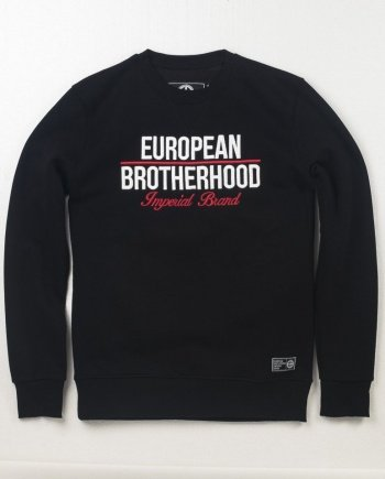 EB Sweatshirt New Imperial Brand – Black