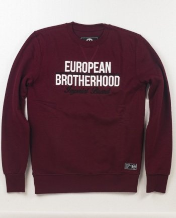EB Sweatshirt New Imperial Brand – Burgundy