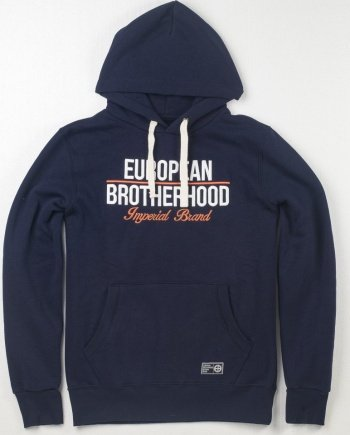 EB Hoodie New Imperial Brand – Navy