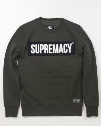 EB Sweatshirt Supremacy – Army Green