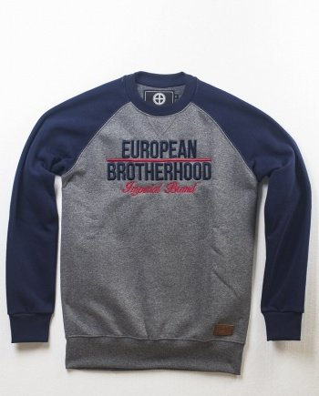 EB Sweatshirt New Imperial Brand Bicolor – Navy / Grey