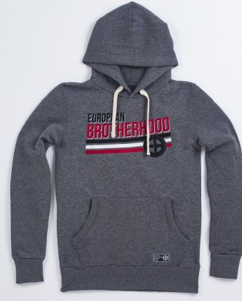"EB Hoodie ""Nation"" – Grey"