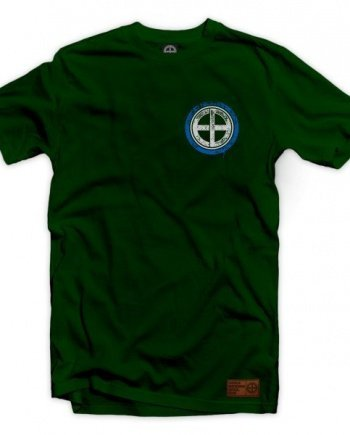 "EB T-Shirt ""Defeat Never"" – Green"