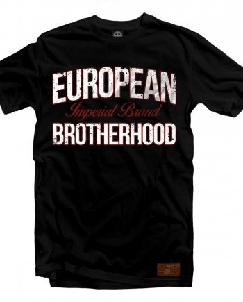 "EB T-Shirt ""Imperial Brand"" – Black"