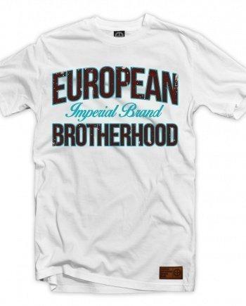 "EB T-Shirt ""Imperial Brand"" – White"