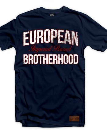 "EB T-Shirt ""Imperial Brand"" – Navy 01"