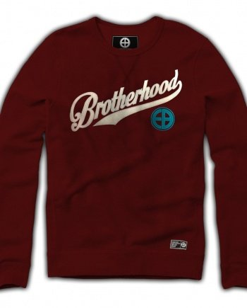 EB Sweatshirt Brotherhood – Burgundy
