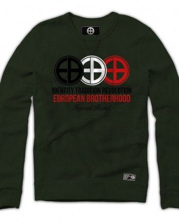 EB Sweatshirt Identity Tradition Revolution – Army Green