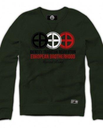 EB Sweatshirt Identity Tradition Revolution – Army Green