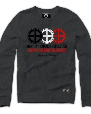 EB Sweatshirt Identity Tradition Revolution – Grey Melange