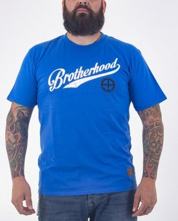 "EB T-Shirt ""Brotherhood"" – Royal Blue"
