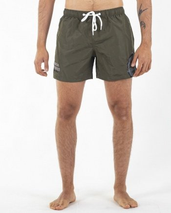 EB Swimming Trunks – Army Green