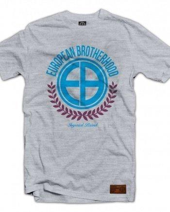 "EB T-Shirt ""Laurel"" – Grey Melange"