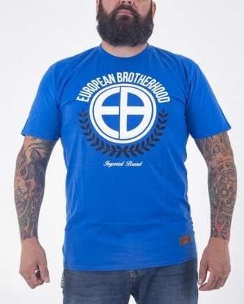 "EB T-Shirt ""Laurel"" – Royal Blue"