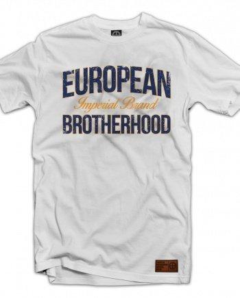 "EB T-Shirt ""Imperial Brand"" – White 02"