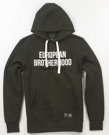 EB Hoodie New Imperial Brand – Army Green