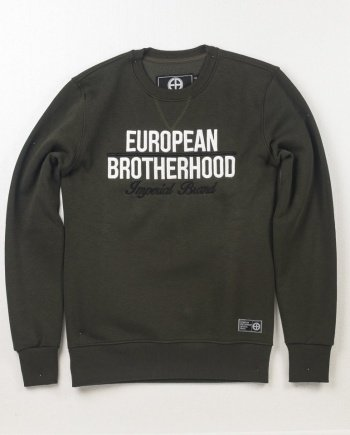 EB Sweatshirt New Imperial Brand – Army Green