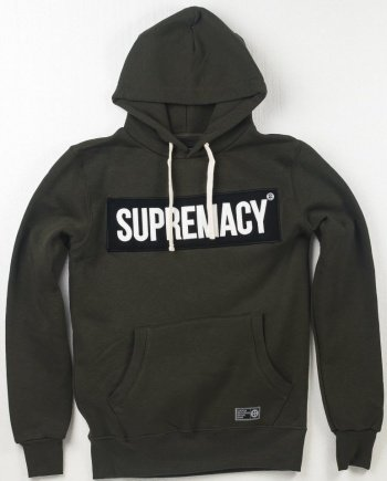 EB Hoodie Supremacy – Army Green