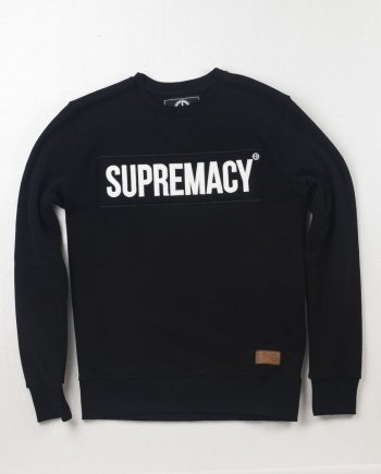 EB Sweatshirt Supremacy – Black