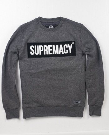 EB Sweatshirt Supremacy – Grey