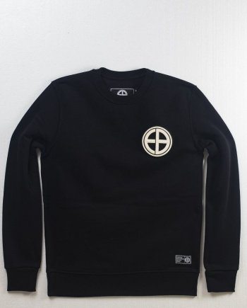 EB Sweatshirt Classic Logo Patch – Black