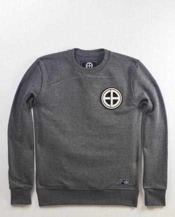 EB Sweatshirt Classic Logo Patch – Grey
