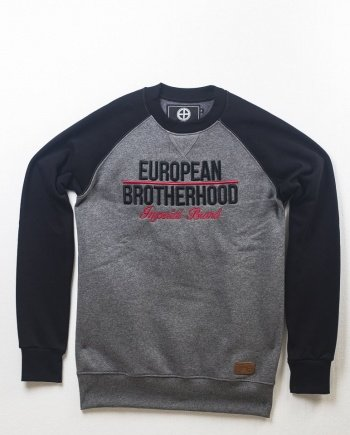 EB Sweatshirt New Imperial Brand Bicolor – Black / Grey