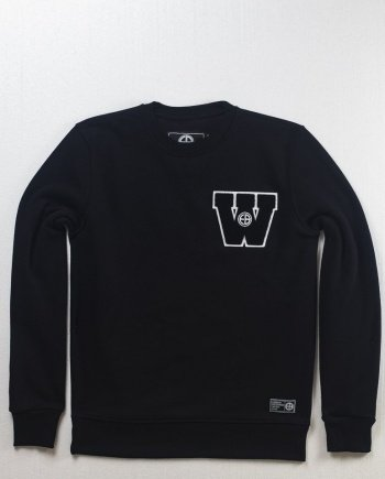 "EB Sweatshirt ""Widerstand"" – Black"