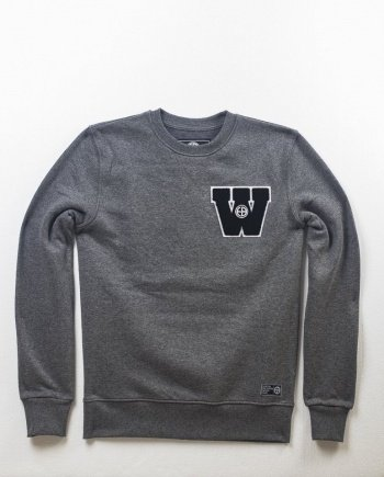 "EB Sweatshirt ""Widerstand"" – Grey"