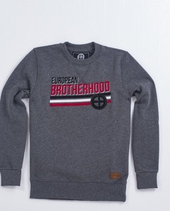 "EB Sweatshirt ""Nation"" – Grey"