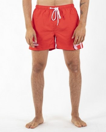 EB Swimming Trunks – Red