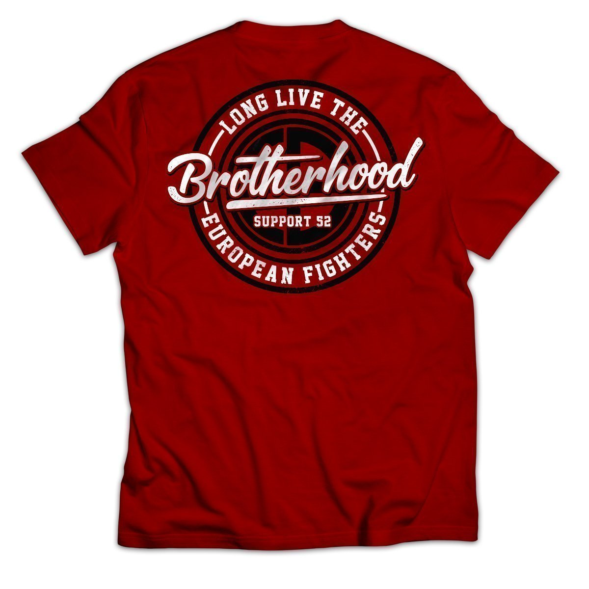 EuropeanFighters_Shirt_Red_Back