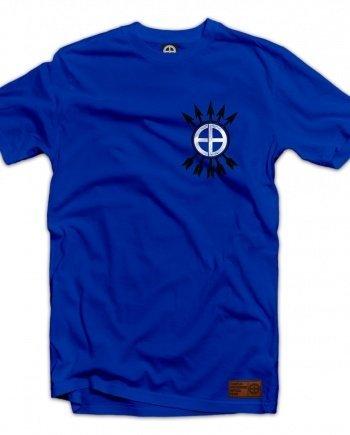 """EB T-Shirt """"Phalanx"""" – Royal Blue"""