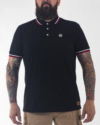 EB Short Sleeve Classic Polo – Black