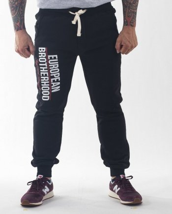 EB Imperial Brand Sweatpants – Black