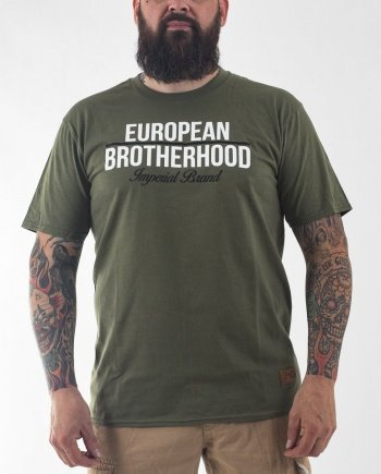EB T-Shirt New Imperial Brand – Army Green