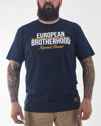 EB T-Shirt New Imperial Brand – Navy