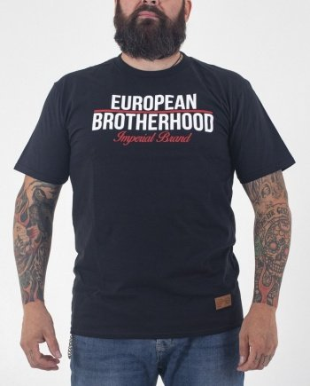 EB T-Shirt New Imperial Brand – Black