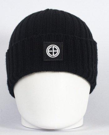 EB Rib Beanie – Black