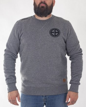 "EB Sweatshirt ""Shield"" – Grey"
