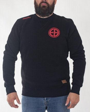 "EB Sweatshirt ""Shield"" – Black"