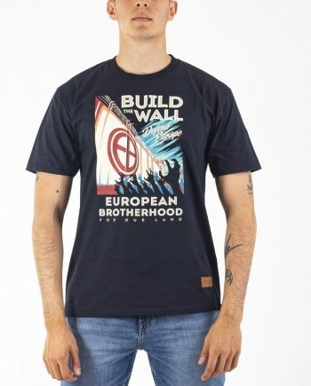 EB T-Shirt Build the Wall – Black